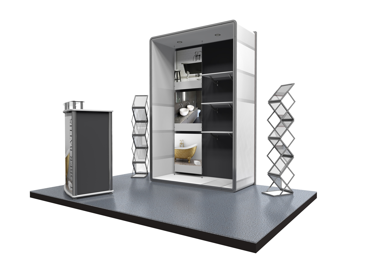 Modular Exhibition Stand By Me : Stand a showstoppingstandsthisway