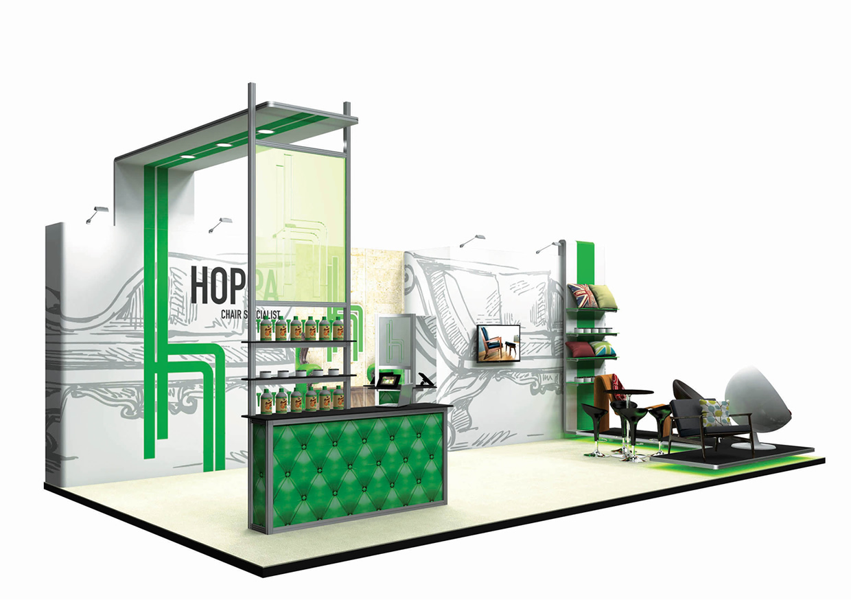 Modular Exhibition Stand By Me : Stand d showstoppingstandsthisway
